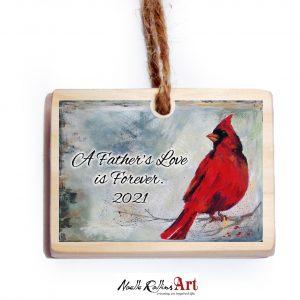 Father memorial ornament