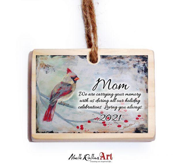 Mom 2021 ornament