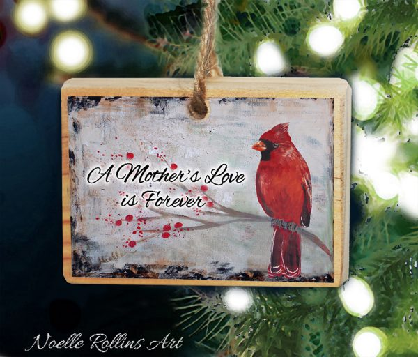 Mother remembrance ornament