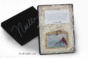 cardinal ornament deluxe gift set