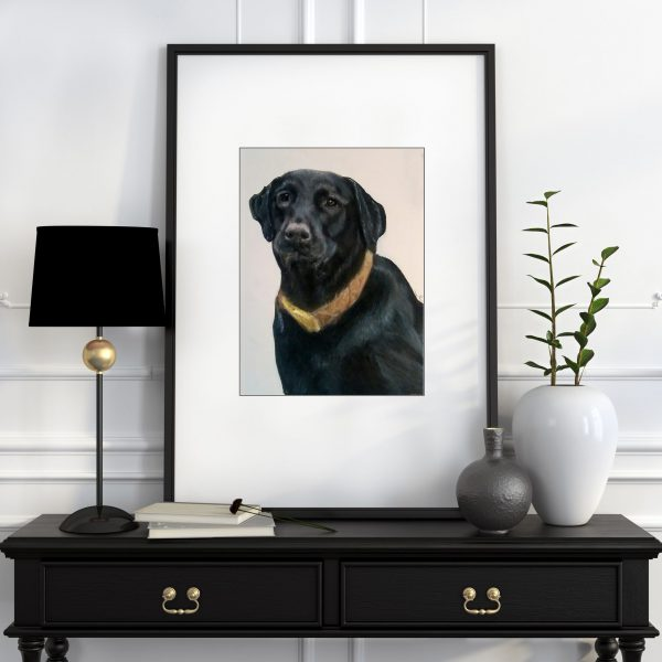 have a pet portrait drawn of your dog or cat