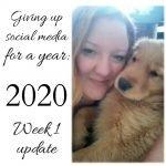 week 1 off facebook and instagram