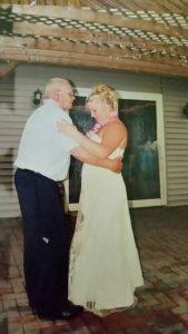 dancing with grandpa - memories before he passed away