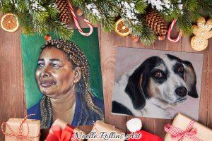 Holiday portrait