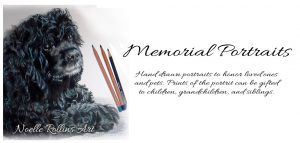 pet or person memorial art