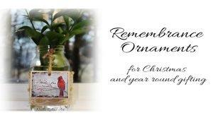 remembrance ornaments