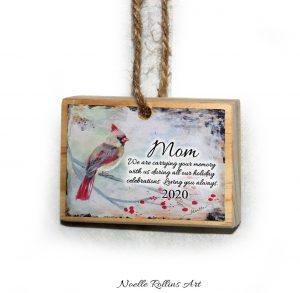 memorial ornament mom 2020
