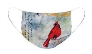 cardinal remembrance face mask