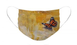 monarch butterfly facemask