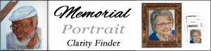 memorial portrait clarity finder header
