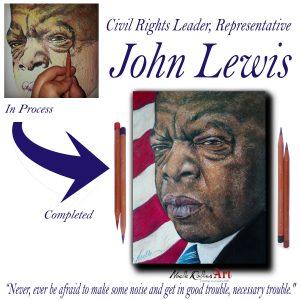John Lewis portrait
