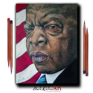 artwork of John Lewis