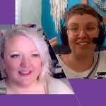 Noelle Rollins and Leonie Dawson artist zoom call