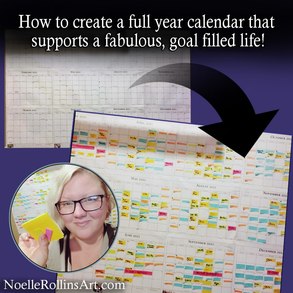 create a full year calendar