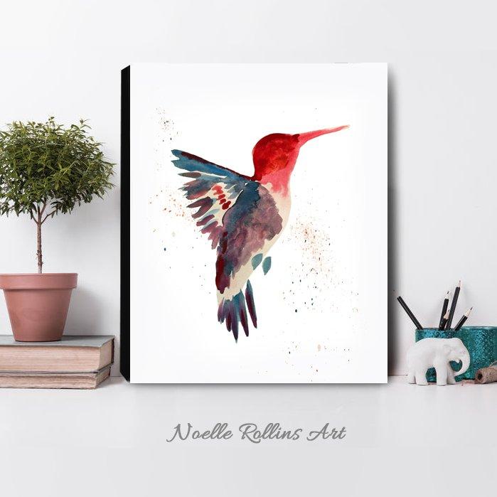 Humminbird sobriety art